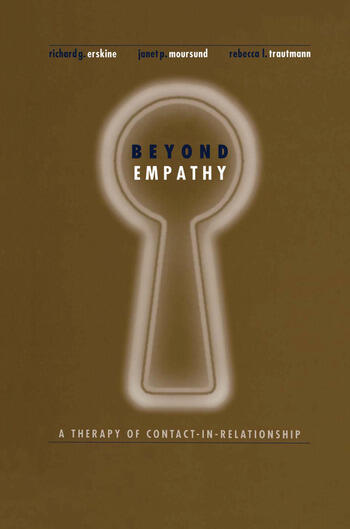 Beyond Empathy A Therapy of Contact-in Relationships book cover