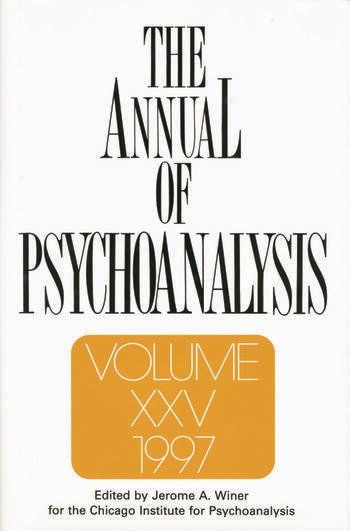 The Annual of Psychoanalysis, V. 25 book cover