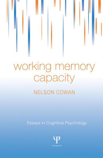 Working Memory Capacity book cover