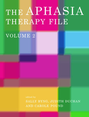 The Aphasia Therapy File Volume 2 book cover