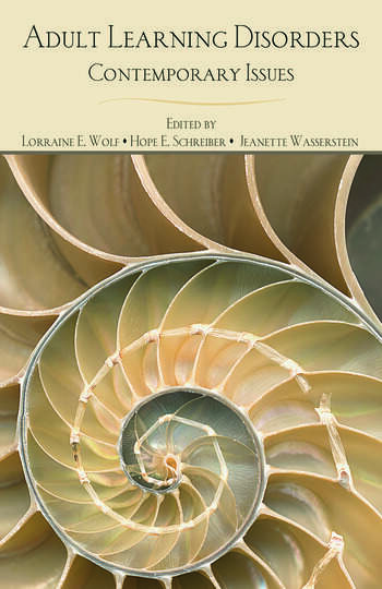 Adult Learning Disorders Contemporary Issues book cover