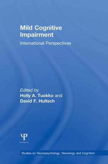 Mild Cognitive Impairment International Perspectives book cover
