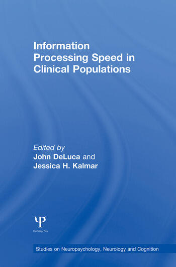 Information Processing Speed in Clinical Populations book cover