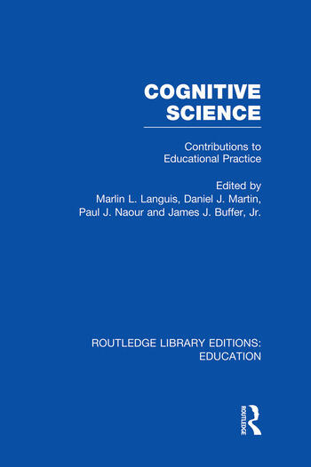 Cognitive Science Contributions to Educational Practice book cover
