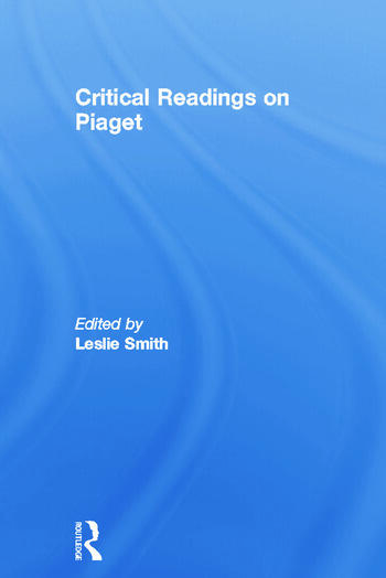 Critical Readings on Piaget book cover