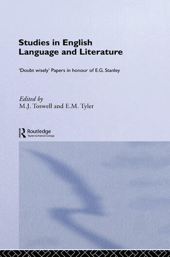 Studies in English Language and Literature Doubt Wisely book cover