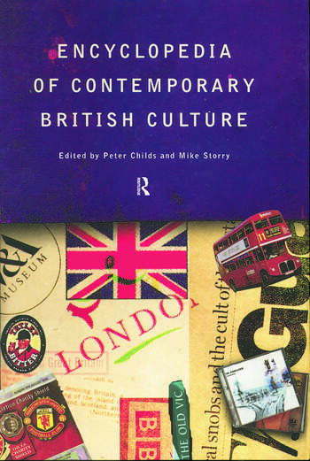 Encyclopedia of Contemporary British Culture book cover