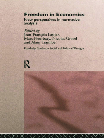 Freedom in Economics New Perspectives in Normative Analysis book cover