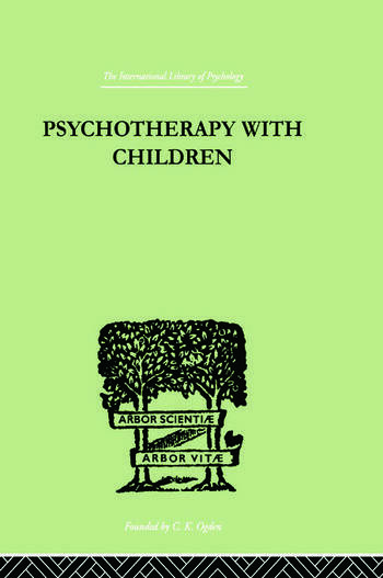 Psychotherapy with Children book cover