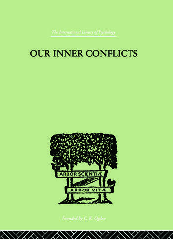 Our Inner Conflicts A CONSTRUCTIVE THEORY OF NEUROSIS book cover