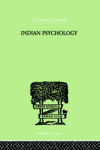 Indian Psychology Perception book cover