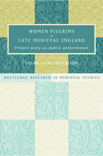 Women Pilgrims in Late Medieval England book cover