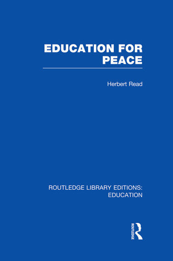 Education for Peace (RLE Edu K) book cover
