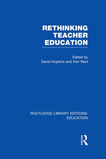 Rethinking Teacher Education book cover