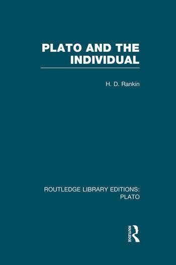 Plato and the Individual (RLE: Plato) book cover