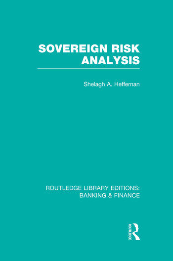 Sovereign Risk Analysis (RLE Banking & Finance) book cover