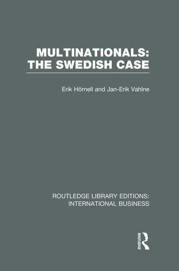 Multinationals: The Swedish Case (RLE International Business) book cover