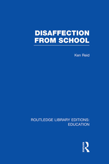 Disaffection From School (RLE Edu M) book cover