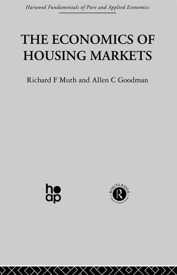 The Economics of Housing Markets book cover