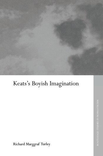 Keats's Boyish Imagination book cover