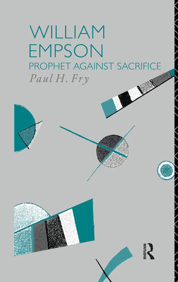 William Empson Prophet Against Sacrifice book cover