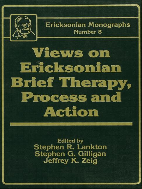 Views On Ericksonian Brief Therapy book cover