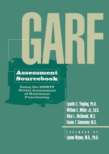 GARF Assessment Sourcebook book cover