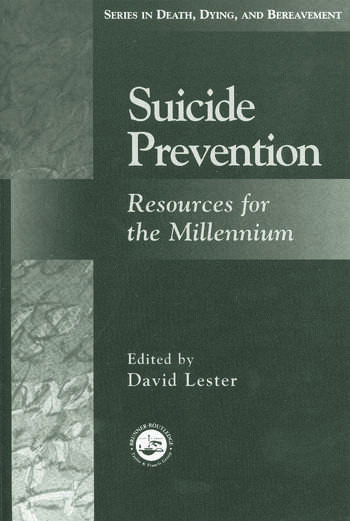 Suicide Prevention Resources for the Millennium book cover