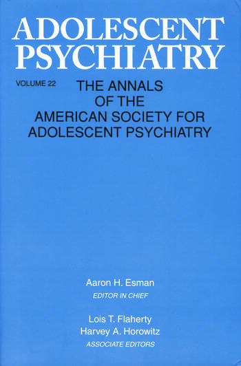 Adolescent Psychiatry, V. 22 Annals of the American Society for Adolescent Psychiatry book cover