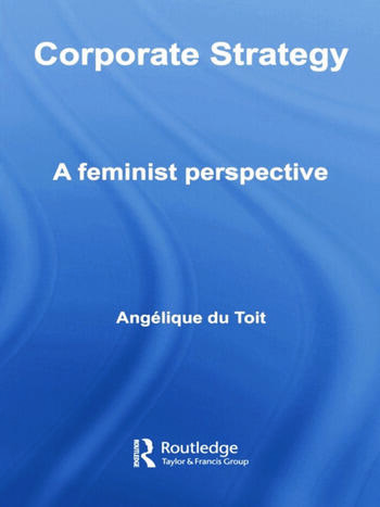 Corporate Strategy A Feminist Perspective book cover