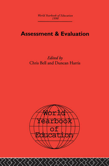 World Yearbook of Education 1990 Assessment & Evaluation book cover