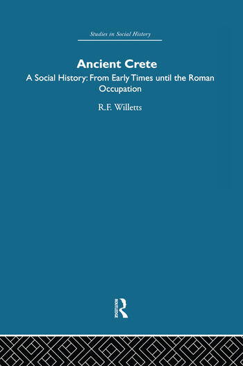 Ancient Crete From Early Times Until the Roman Occupation book cover