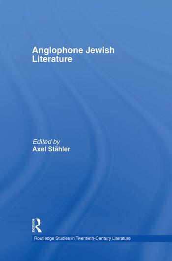 Anglophone Jewish Literature book cover