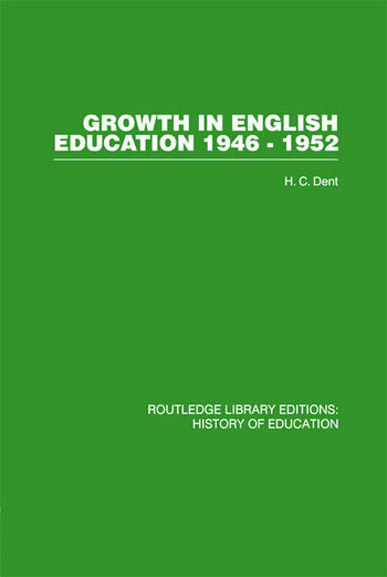 Growth in English Education 1946-1952 book cover