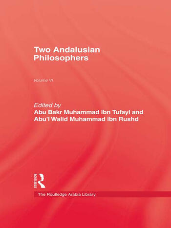 Two Andalusian Philosophers book cover