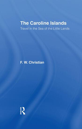 Caroline Islands book cover