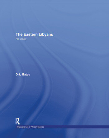 The Eastern Libyans (1914) book cover