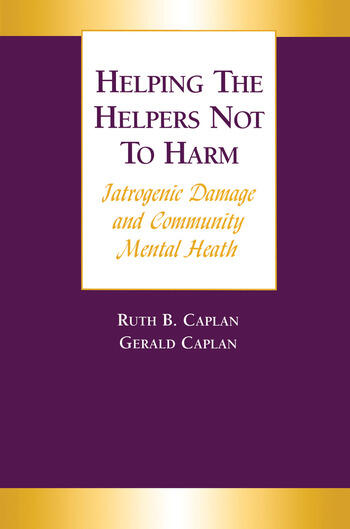 Helping the Helpers Not to Harm book cover