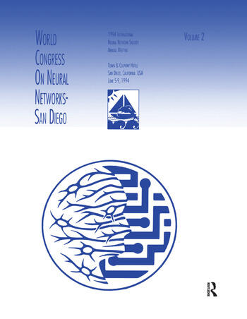 World Congress on Neural Networks 1994 International Neural Network Society Annual Meeting book cover