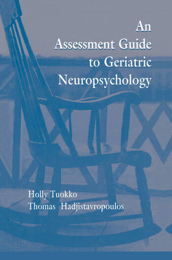 An Assessment Guide To Geriatric Neuropsychology book cover