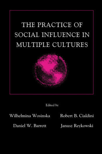 The Practice of Social influence in Multiple Cultures book cover
