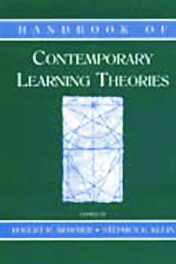 Handbook of Contemporary Learning Theories book cover