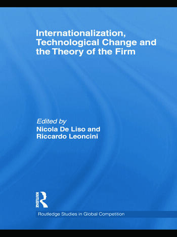 Internationalization, Technological Change and the Theory of the Firm book cover