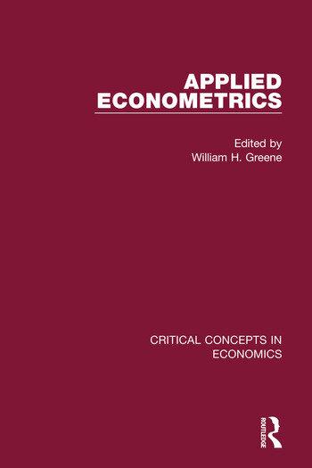 Applied Econometrics book cover