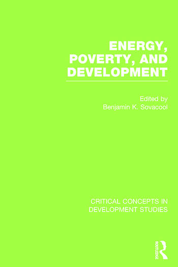Energy, Poverty, and Development book cover