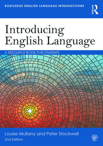 Introducing English Language A Resource Book for Students book cover