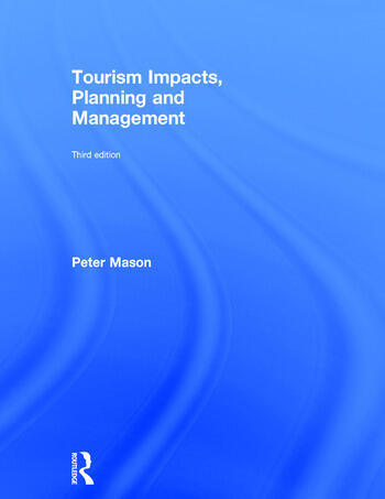 Tourism Impacts, Planning and Management book cover