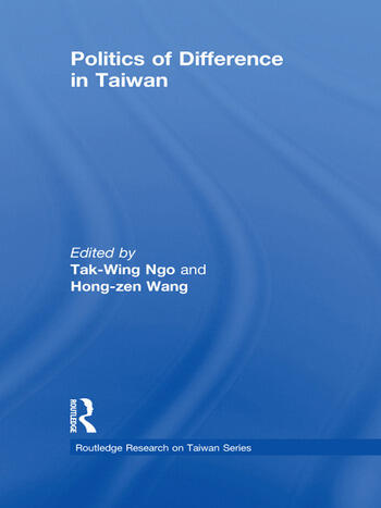 Politics of Difference in Taiwan book cover