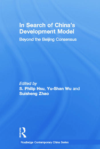 In Search of China's Development Model Beyond the Beijing Consensus book cover