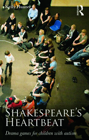 Shakespeare's Heartbeat Drama games for children with autism book cover
